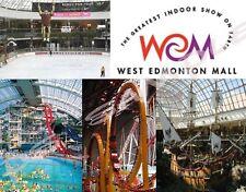 Canada - WEST EDMONTON MALL  - Travel Souvenir Flexible Fridge Magnet