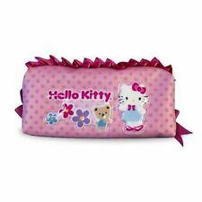 Hello Kitty Pink Ruffle Pencil Pouch Sanrio Hello Kitty pink bag cute pen case