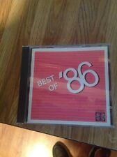 Best Of '86 CD Juice Newton The Jude's Eddie Rabbit Vince Gil Ronnie Milsap Demo