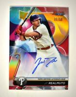 2020 Bowman's Best of 2020 Auto Gold #B20-JT J.T. Realmuto /50