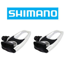 Shimano SPD SL PD-R540 Clipless Road Bike Pedals White with Black Accent + Cleat