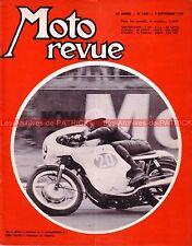 MOTO REVUE 1850 john HARTLE ; Les Grand Prix ; ISDT à Zakopane MZ NORTON 1967
