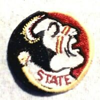 Vintage Florida State Seminoles FSU Embroidered Iron-On Logo Patch NCAA