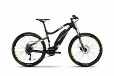 """E-Bike Haibike SDURO HardSeven 1.0 Yamaha PW 400 Wh 9G 27.5"""" Schwarz/Wei�Ÿ/Silber"""