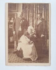 Antique Cabinet Card Queen Victoria, Edward VII, VIII, George V Four Generations