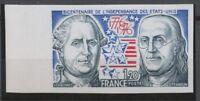 1976 France N°1879a Bord de Feuille Non dentelé Neuf luxe** COTE 77€ D1790