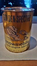 oil tin golden spectro snowmobile nos full early 70s collecting gas and oil rare