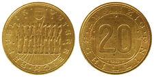 AUSTRIA 20 SCHILLING 1980 NINE PEOPLE STANDING #2523