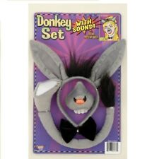 Donkey Ears Tail and Nose Set with Sound