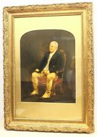 Large English School (19th century) Portrait of a Seated Gentleman oil on board