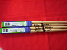(02) Pair Pro-Mark   Phil Collins-hickory wood tip