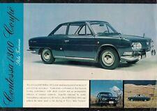 Hino Contessa PD SERIE 1300 COUPE 1965 UK mercato OPUSCOLO illustrativo in inglese