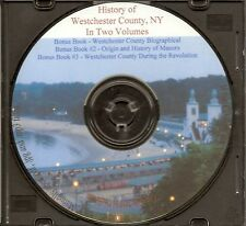 Westchester County New York History + Biographical