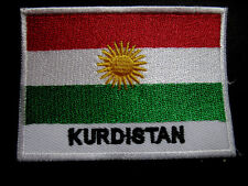 KURDISTAN CURDISTAN CORDUENE LAND OF THE KURDS NATIONAL FLAG Sew on Patch
