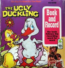 THE UGLY DUCKLING 1952 Peter Pan Read Along Book & Record Set SEALED