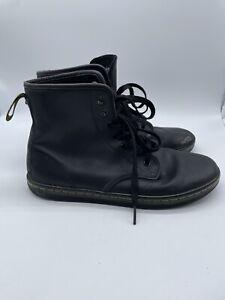 Dr. Martens Shoreditch Womens Size 8L US Black  Hi-Top Sneaker Punk Boot