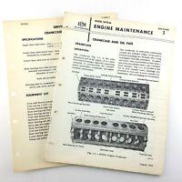 1964 GM Electro Motive Diesel Locomotive Crankcase Oil Pan Operating Guide Q875