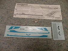 Scale-Master decals 1/144 Boeing 727-78 British West Indies Airline BWIA    QQ3