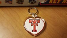 Lot of 60 New Texas Tech Souvenir Keychains Just .50 cents each - Fast Shipping!