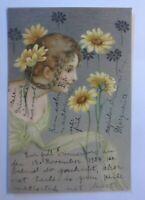 Frauen, Mode, Blumen,    1904 ♥ (31401)