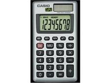 Casio 8 Digit Solar Plus Battery Calculator Auto Off Small for Pocket or Purse