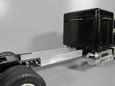 "Aluminum 6"" Frame Extension for Tamiya RC 1/14 Aeromax Scania Actros Semi Truck"