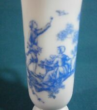 Vintage Avon Blue & White Milk Glass Decorative Mug/Cup - Pre-owned - Nice