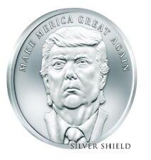 1 oz silver make merica great again Donald Trump coin.999 pure 2018 BU limited!