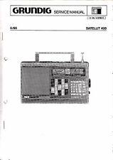 Service Manual-Anleitung für Grundig Satellit 400