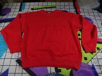 vtg 90s giordano italian  spell out sweatshirt sweater jumper