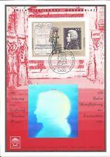 Germany 1991 Wolfgang Amadeus Mozart Zauberflöte Wermsdorf Hologram / Stamp Card