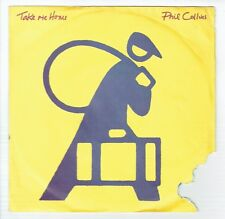"""Phil COLLINS Vinyl 45T 7"""" TAKE ME HOME - ONLY YOU KNOW AND I KNOW - WEA 258830"""
