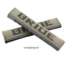 Racing Bride Universal Gradation Hyper Fabric Car Seat Belt Cover Shoulder Pads