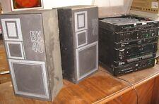 Europhon Giradischi, radio, cd, stereo con due casse Vintage