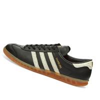 ADIDAS MENS Shoes Hamburg - Core Black, White & Lush Red - EF5674