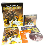 Warlords: Battlecry for PC CD-ROM in Big Box by Strategic Simulations, 2000, VGC