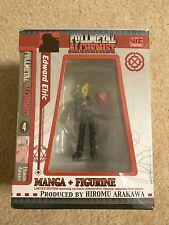 New Fullmetal Alchemist Edward Elric Manga + Figure - Rare Boxset