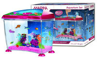 MARINA SEAHORSE 14L AQUARIUM KIT FUN SCENE FILTER NUTRAFIN PLASTIC FISH TANK
