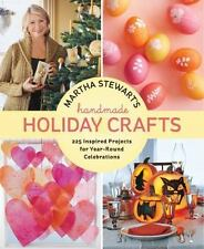 Martha Stewart's Handmade Holiday Crafts 225 Projects for Year-Round Book