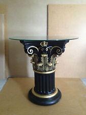 Glastisch Esstische Barock Säulen Wohntisch Medusa Styl Säulentisch 6030 k 2+50
