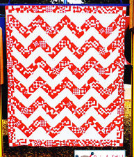Homestead Betty - fabulous modern sampler pieced quilt PATTERN - Kelli Fannin