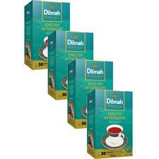 Dilmah English Afternoon Ceylon tea - 50 Tea bags (100g) X 4 pack