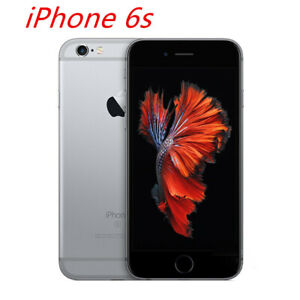Original Apple iPhone 6s 64GB Space Gray Unlocked CDMA GSM IOS Smartphone