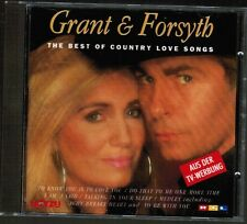 Grant & Forsyth The Best of Country Love Songs CD 1993