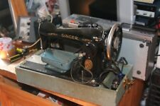 Vintage Singer sewing Machine  Tested working but needs TLC