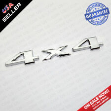 Universal OEM ABS Chrome 4X4 Car Logo Decal Emblem Sticker For Mopar Truck SUV