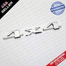 Universal OEM ABS Chrome 4X4 Car Logo Decal Emblem Sticker For Mopar Truck SUV