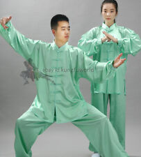 Silk Satin Tai chi Suit Kung fu Martial arts Uniform Wing Chun Jacket and Pants