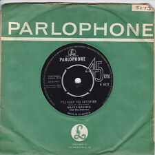 """BILLY J.KRAMER..I`LL KEEP YOU SATISFIED..EXCELLENT 1963 PARLOPHONE POP / BEAT 7"""""""