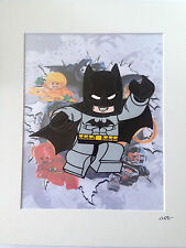 Lego - DC Comics - Batman - Design 2 - Hand Drawn & Hand Painted Cel